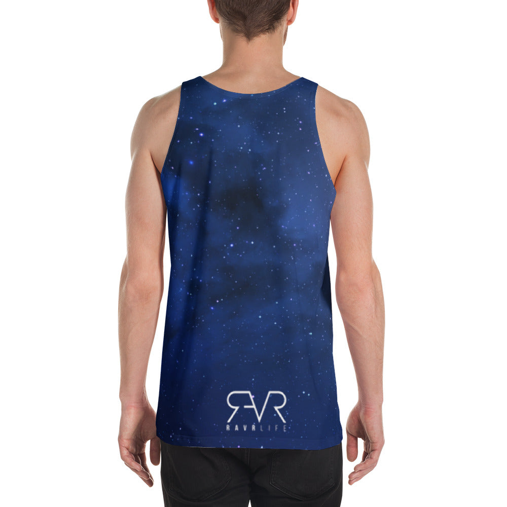 Space Triangle Unisex Tank Top