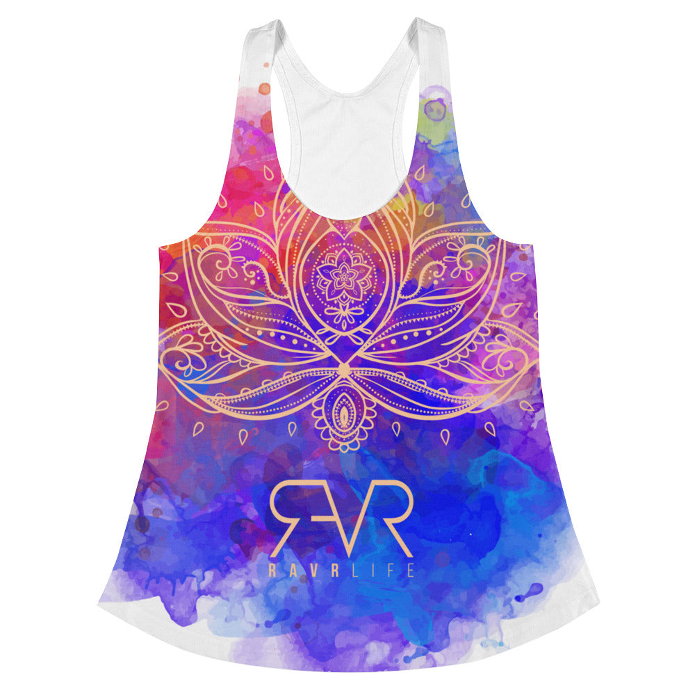 Water Color Racerback Tank