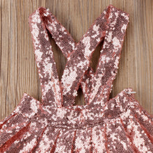 Pink Sequin Jumper Set