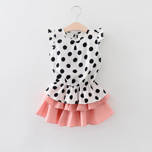 Polka Dot 2 Piece Set