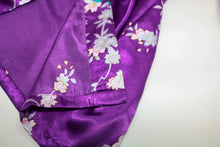 Flower Silk Robe
