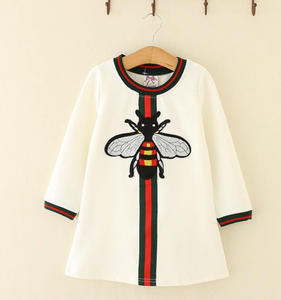 Cream Bee Dress