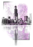 Sears Tower purple