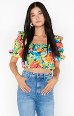 Show Me Your Mumu: Jessie Top - Mimosa Blooms