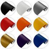 Film vinyle mat - 10cm x 100cm - 12 couleurs - Covering Shop