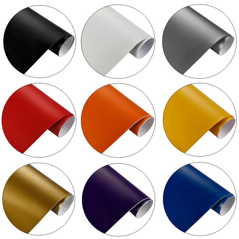 Film vinyle mat - 50cm x 200cm - 12 couleurs - Covering Shop