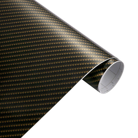 Film vinyle carbone 2D - 50cm x 200cm - 4 couleurs - Covering Shop