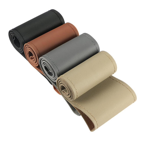 Covering cuir pour volant - 38cm - 4 couleurs - Covering Shop