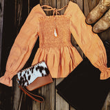 Sunset Ruffle Blouse