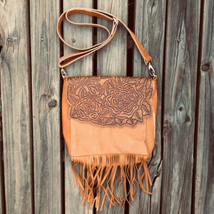 Rose Garden Tassel Bag