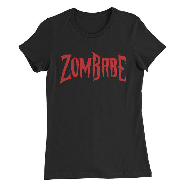 """ZomBabe"" Women's Slim Fit T-Shirt"