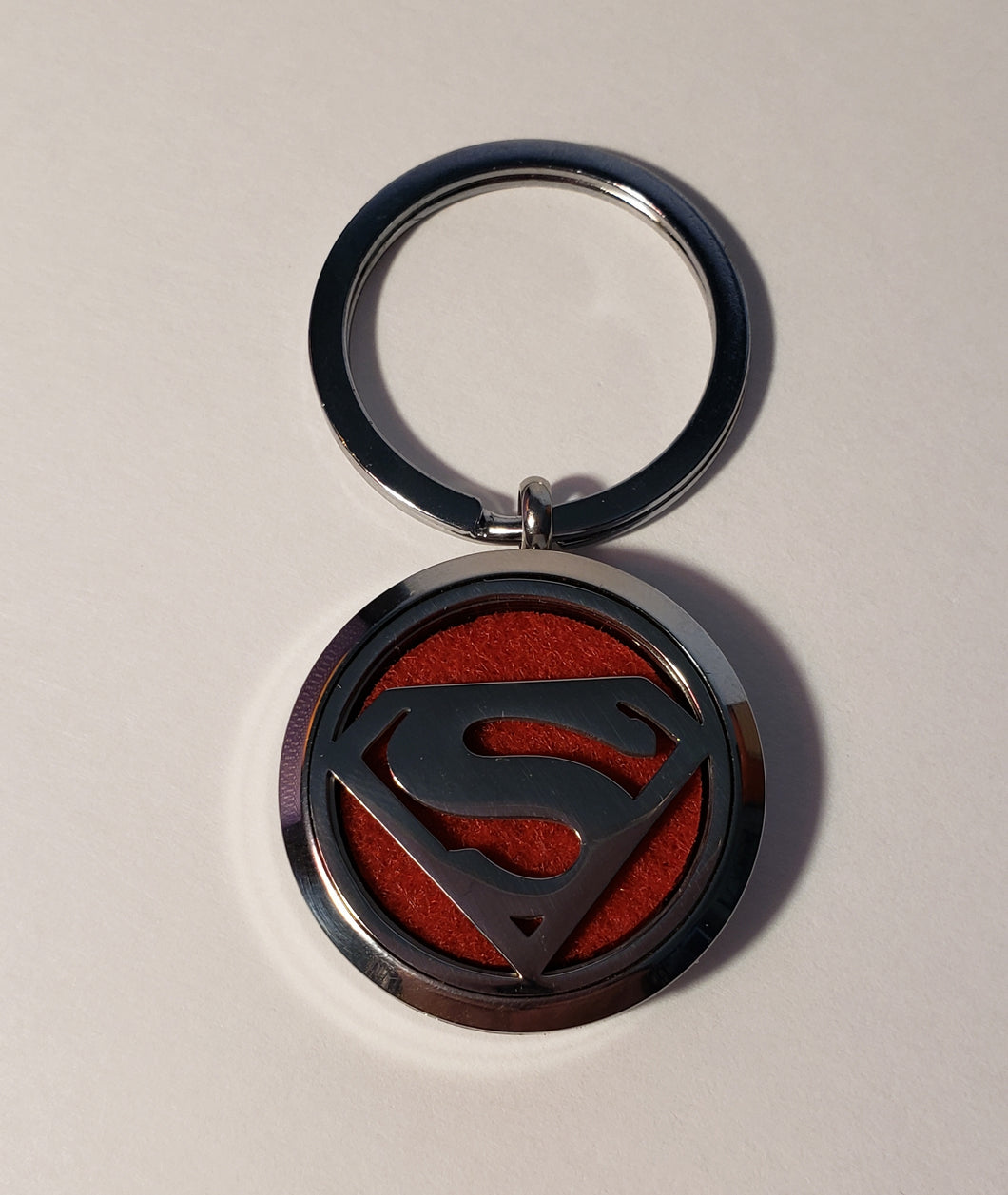 Diffuser Key Chain for Essential Oils Superman