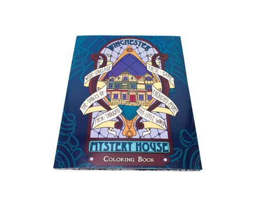 Winchester Mystery House Coloring Book