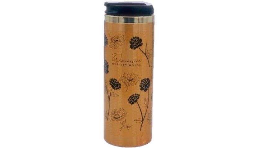 Winchester Mystery House Gold Tumbler