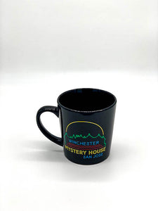 Neon Lights Winchester Mystery House Mug