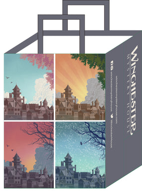 Four Seasons Winchester Mystery House Reusable Bag