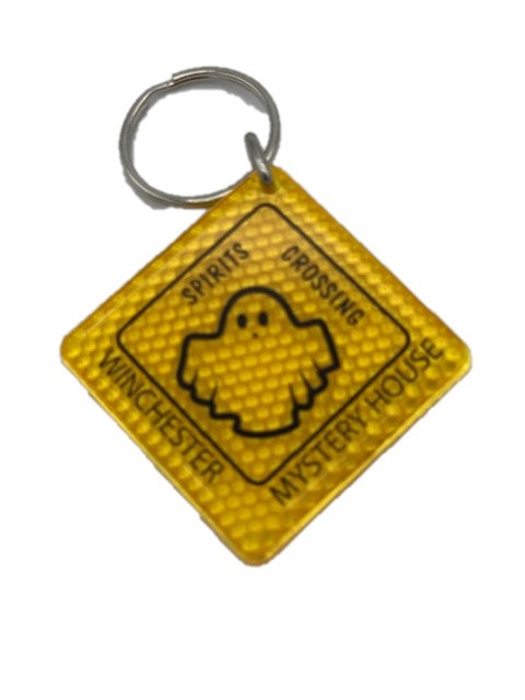 Spirits Crossing Winchester Mystery House Key Chain
