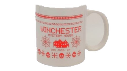 Winchester Mystery House Ugly Sweater Mug