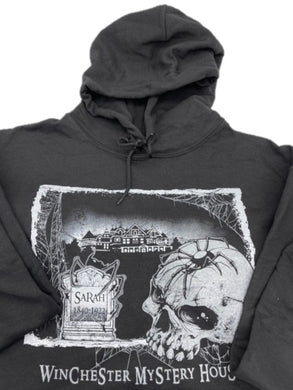 Skull and Spider Winchester Mystery House Sweatshirt