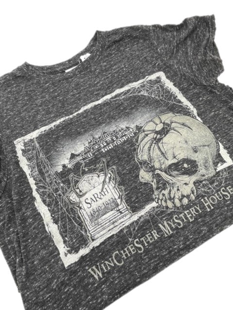 Skull and Spider Winchester Mystery House T-shirt