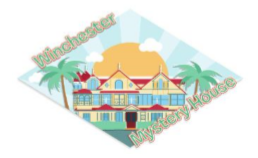 Diorama Winchester Mystery House Magnet
