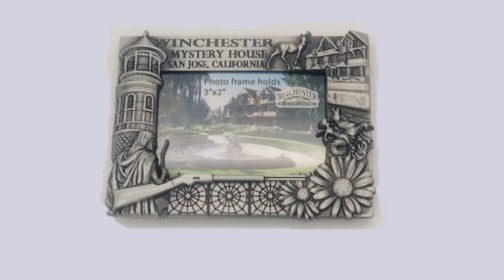 Winchester Mystery House Magnet Frame