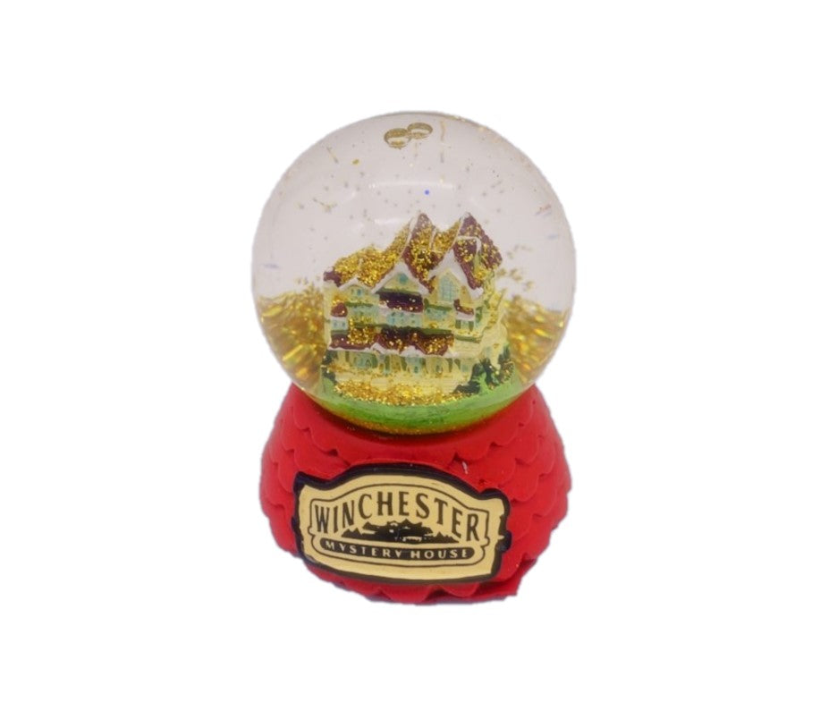 Miniature Winchester Mystery House Snow Globe