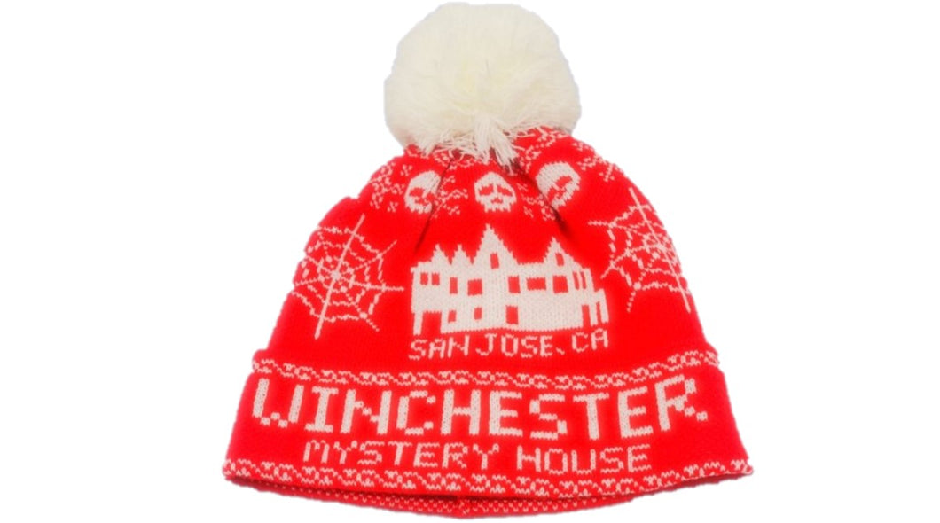 Winchester Mystery House Ugly Sweater Beanie
