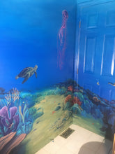 Underwater Sea Bathroom Mural