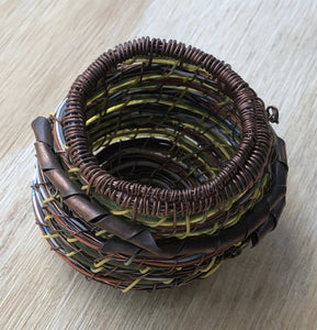 mixed wire copper basket