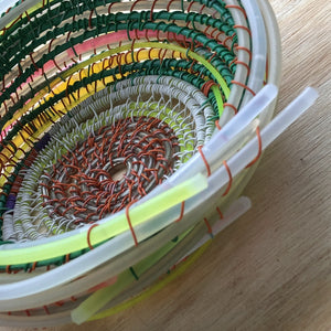 glow stick wire basket