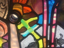 Crazy Quilt Window