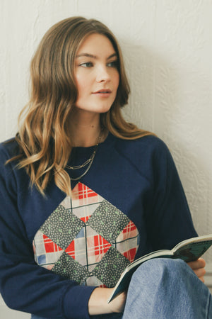 Patchwork Sweatshirt