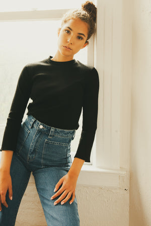 Kid Bell Sleeve Top