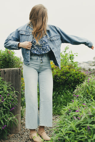 Blue Slouch Jacket