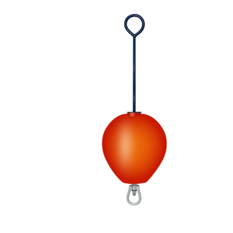 red long rod mooring Buoy
