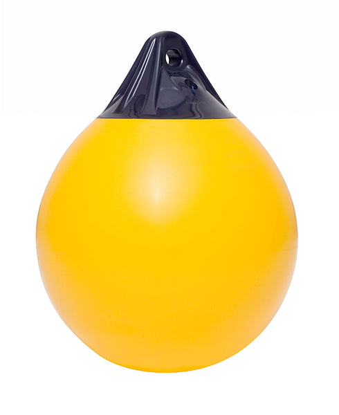 Polyform A7 Buoys 1420mm(L) x 1100mm(D) Yellow