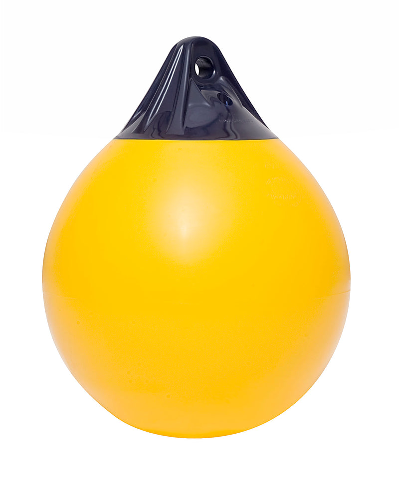 Polyform A6 Buoys 1120mm(L) x 850mm(D) Yellow