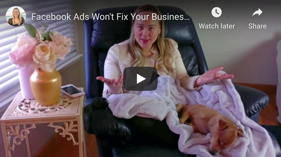 Facebook Ads Won't Fix Your Business If Your Website Foundation Is Broken