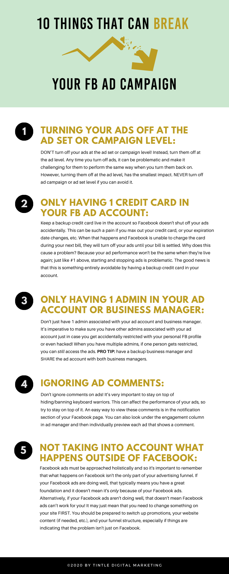 10 Things That Can Break Your Facebook Ads