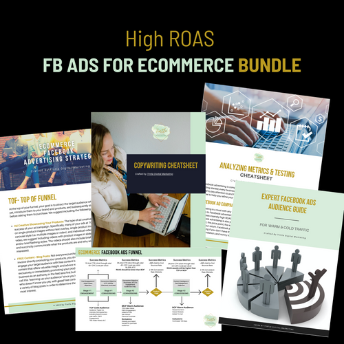 High ROAS Facebook Ads For Ecommerce Bundle