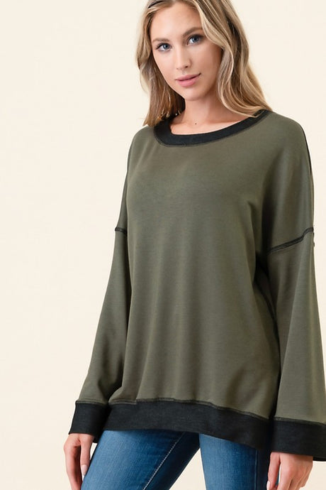 Louisa Sweater Top