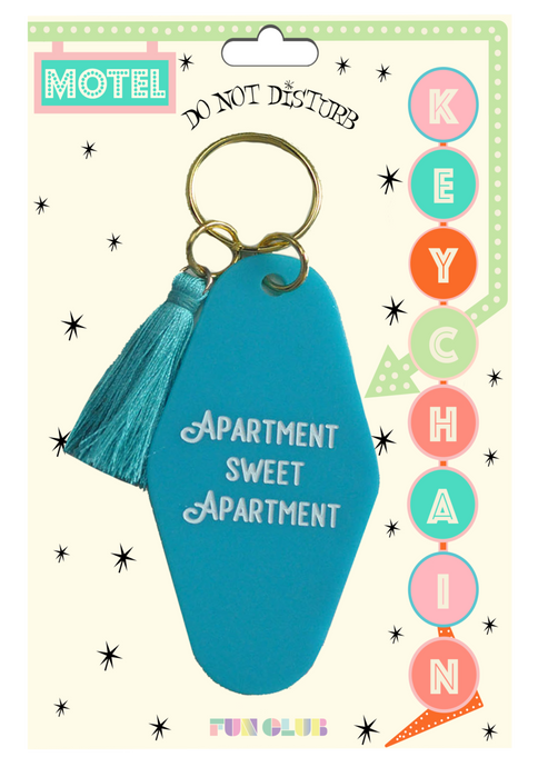 Apartment Sweet Apartment Keychain