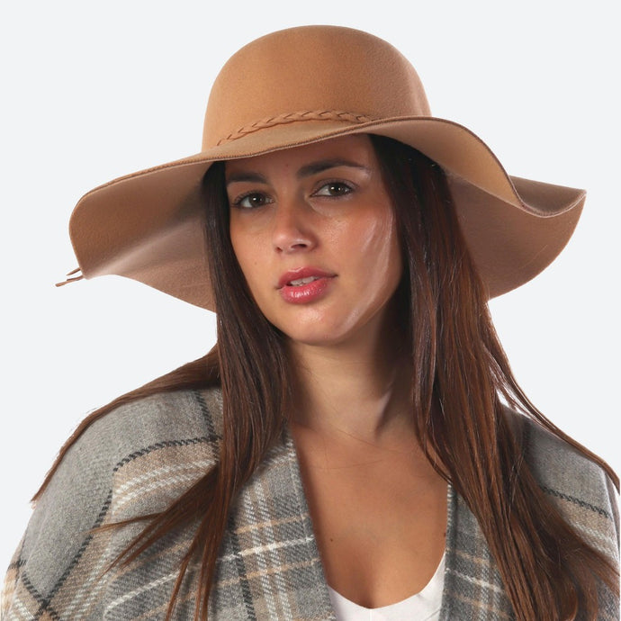 Charlotte Floppy Hat-Taupe