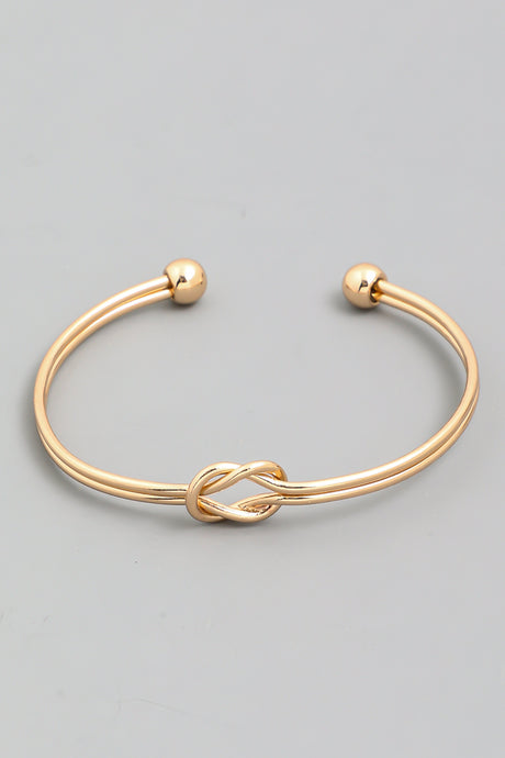 Knotted Cuff Bracelet