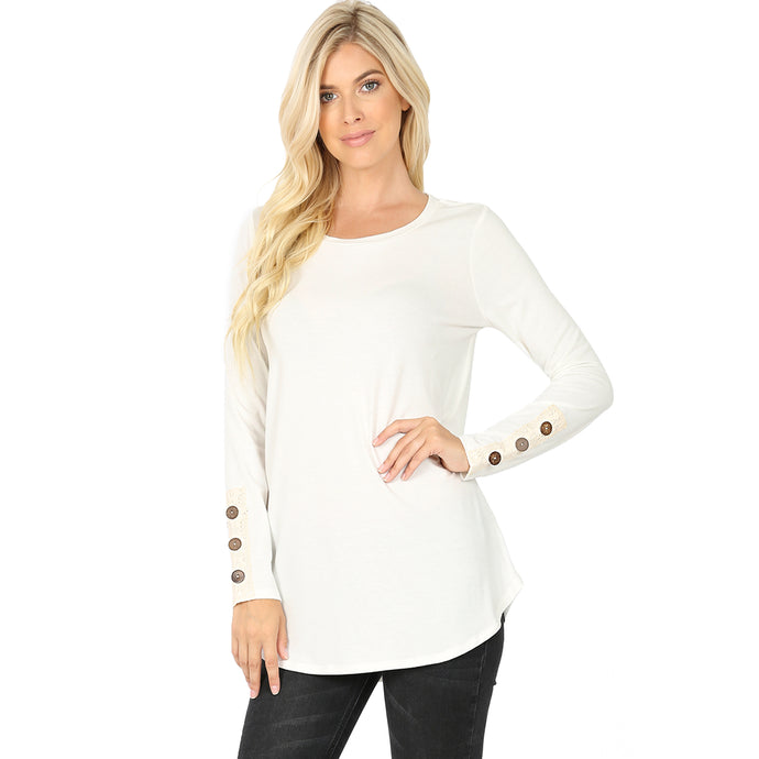 Kirsten Long Sleeved Button Top