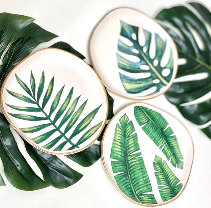 Palm Jewelry Tray
