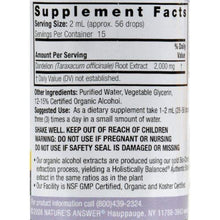 Nature's Answer Dandelion Root - 1 fl oz