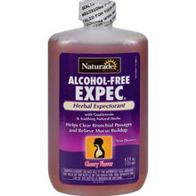 Naturade Alcohol-Free Herbal Expectorant - Natural Cherry Flavor - 4.2 oz