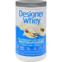 Designer Whey Protein Powder French Vanilla - 2 lbs